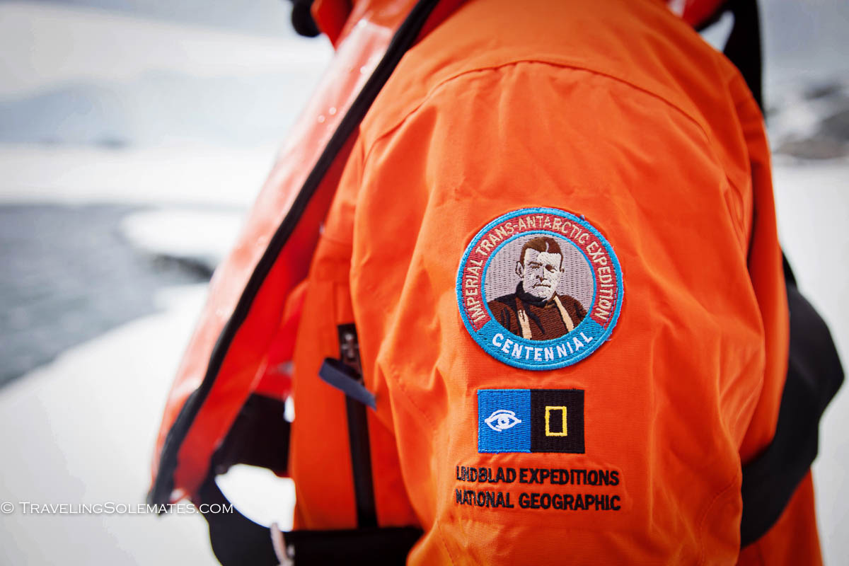 Schackleton Centennial Commemorative Parka, National Geopgraphic Expedition, Antarctica Expedition