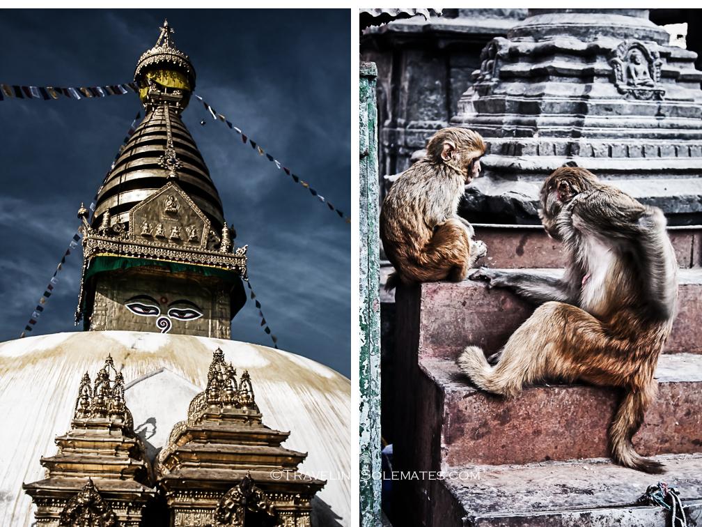 Swayambunath, Monkey Temple, Kathmandu, Nepal