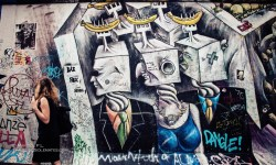 Arts, Paintings in Berlin Wall's East Side Gallery