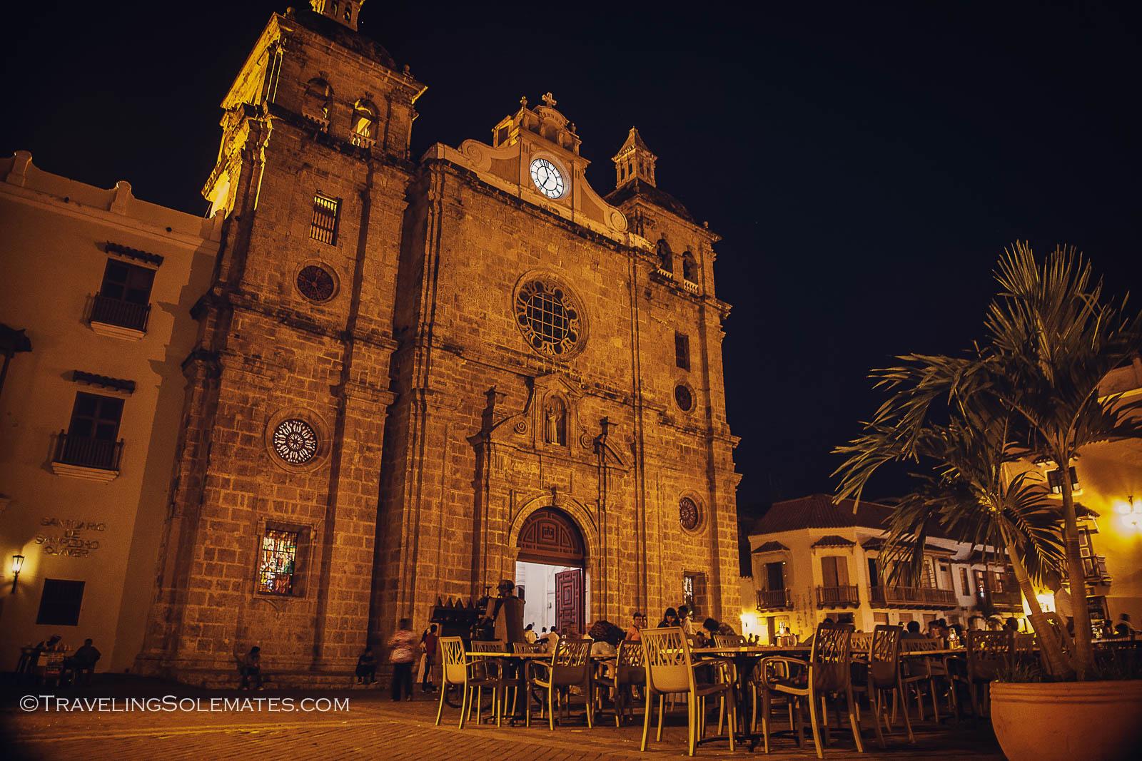 San Pedro Claver Church, Old Cartagena, Colombia