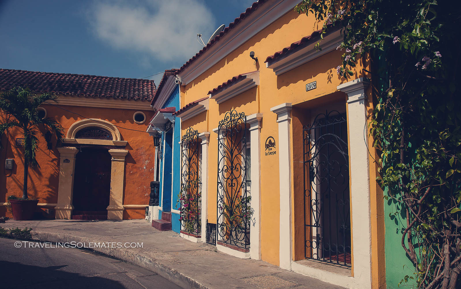 A guesthouse in Getsemani, Cartagena, Colombia