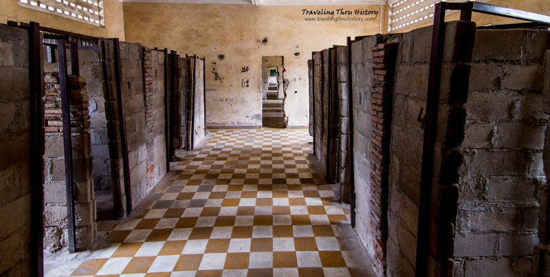 Tuol Sleng Building C Cells