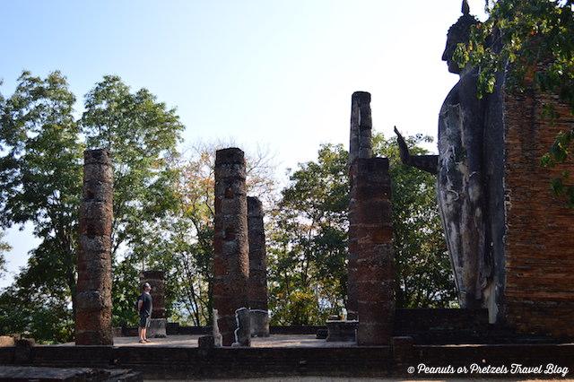 Buddha, Temple, Ruins, Sukhothai, Thailand