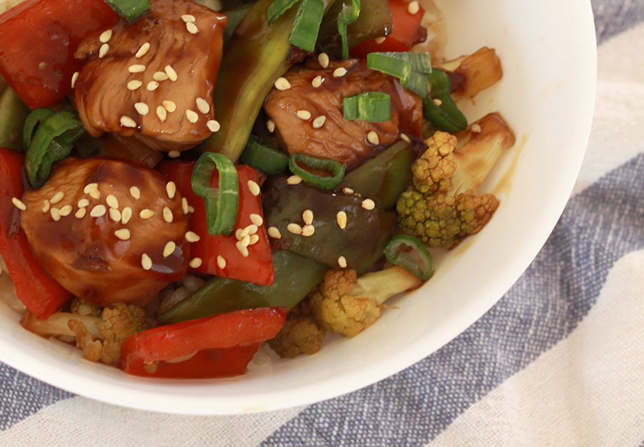 Teriyaki Chicken & Veggies