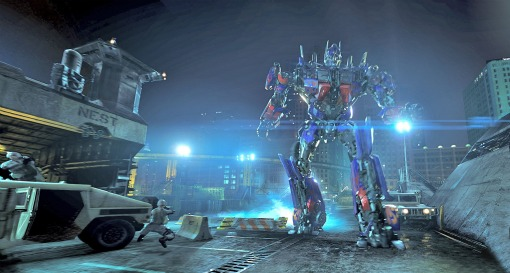Transformers The Ride 3-D