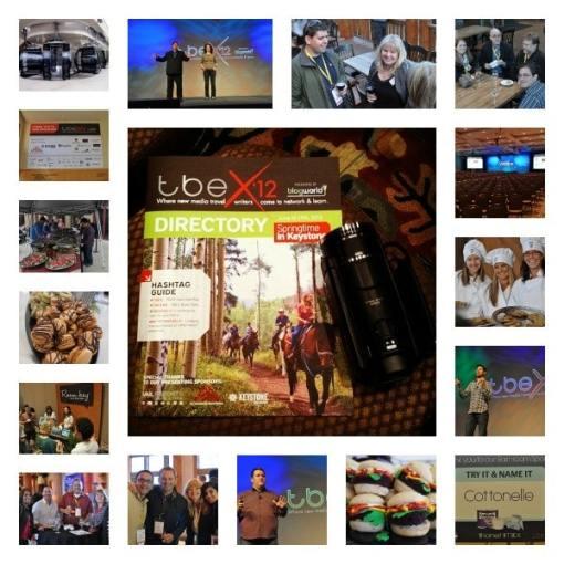 TBEX 12 Keystone Colorado collage