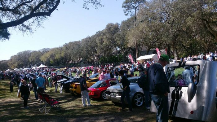 Amelia Island Concours d'Elegance – on the cheap!
