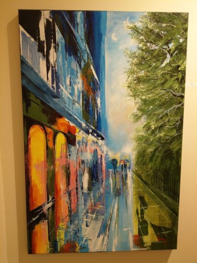 """Vena's """"Pirate's Alley"""" at Kezic Gallery New Orleans."""