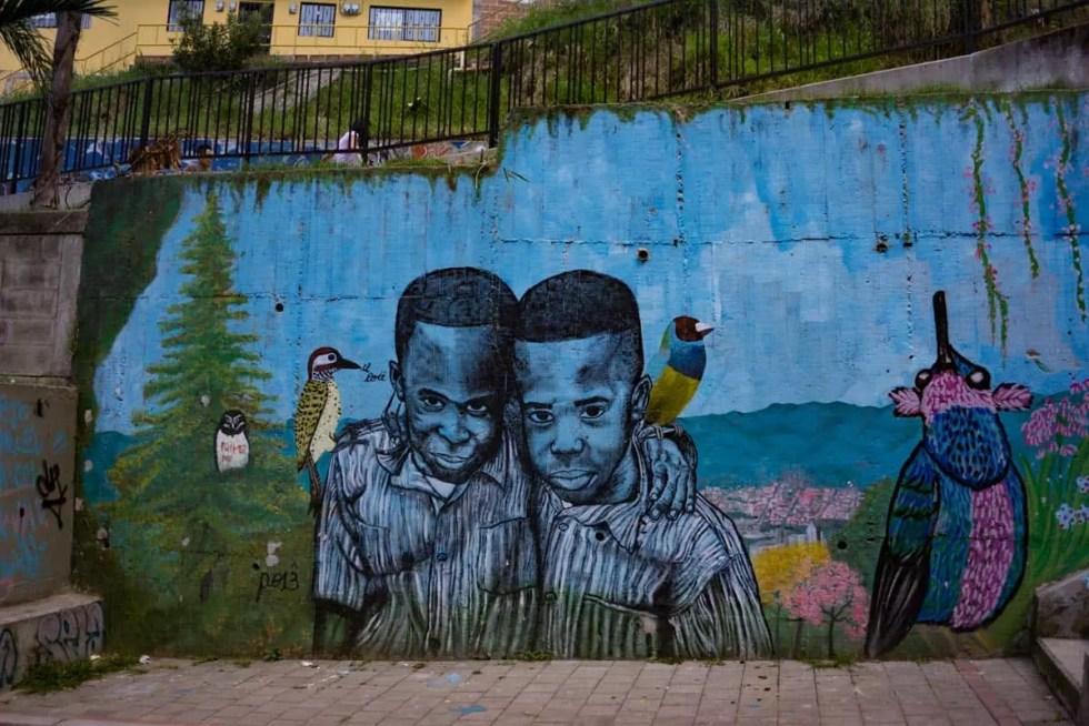 Comuna 13 Graffiti