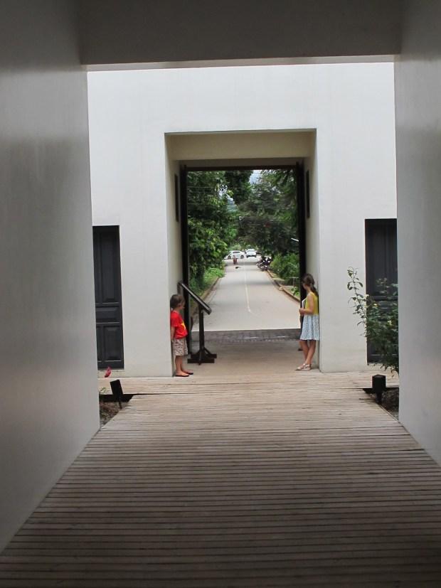 Hotel de la Paix doorway