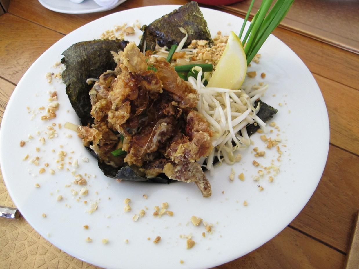 Marrakesh Hua Hin soft shelled crab