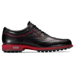Ecco Tour Hybrid HydroMax™ Golf Shoe 141514 (Black/Brick)
