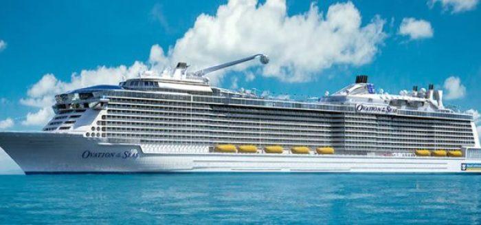 Royal Caribbean –  Ovation of the Seas