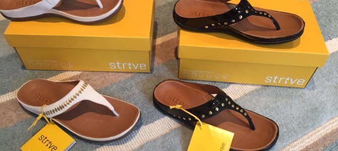 Staying comfortable this summer with Strive Footwear