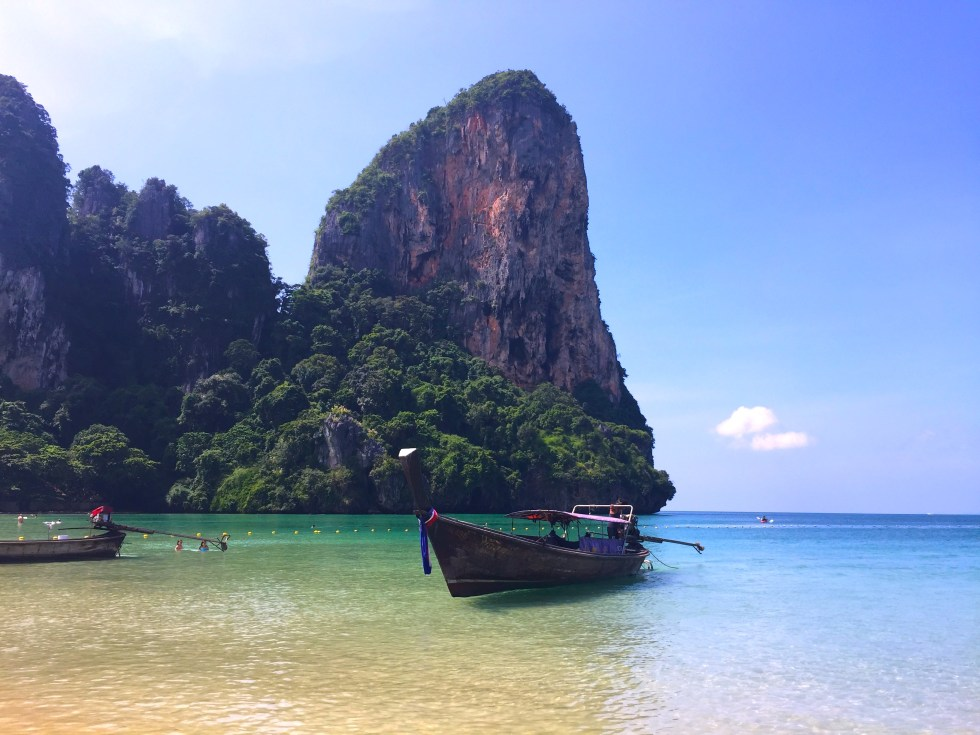 A Peaceful Paradise at Railay Beach