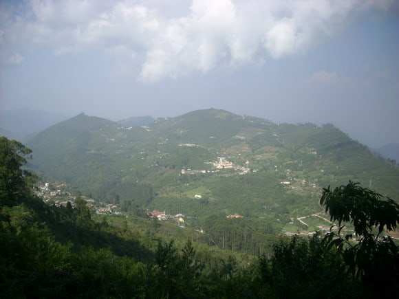 View from Perumal Peak, Kodaikanal