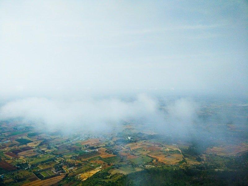 View from Nandi Hills, trip to nandi hills