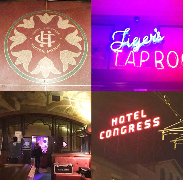 Hotel Congress, photos by Carolyn Burns Bass