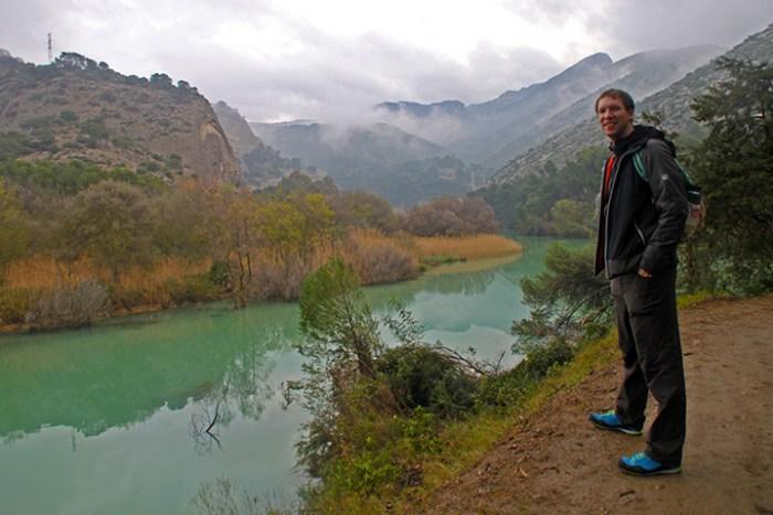 Vorfreude beim Zustieg zum Caminito del Rey.