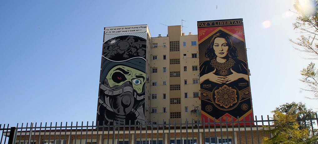 Street Art in Málaga: Unterwegs im Soho Andalusiens