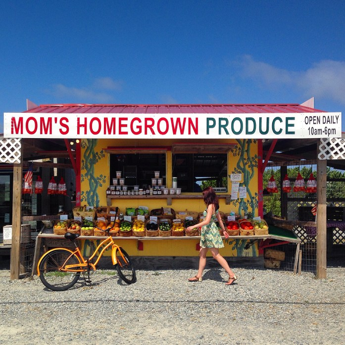 bike-rental-outer-banks-moms-produce-hatteras-nc