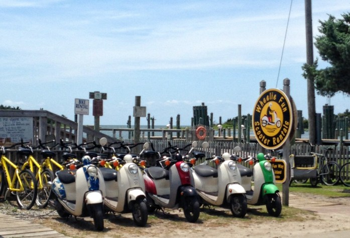 Things-to-do-in-the-Outer-Banks-Ocracoke-Island-Scooter-Rental