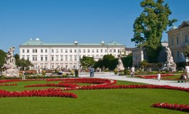 Mirabell Palace, a Sound of Music location