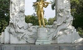 Mozart in Stadtpark, Vienna..