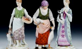 Meissen figurines..