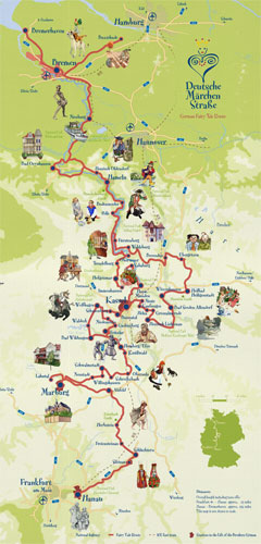Fairytales-Route-Map