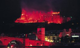 Heidelberg Castle Illuminations 2015