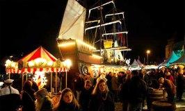Kölner Hafen-Weihnachtsmarkt:  Cologne Harbour Christmas Market 2014