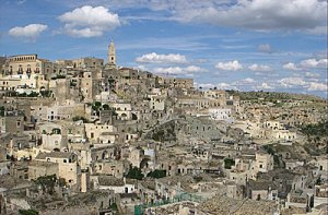 Sassi District's Cave Dwellings, Matera