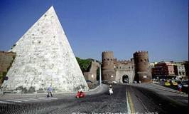 Pyramid of Cestius – An Egyptian-style Tomb in Rome