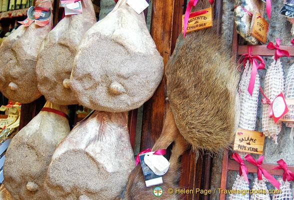 Food in San Gimignano