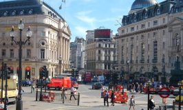 Piccadilly Circus, London © Travelsignposts