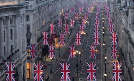 Diamond Jubilee: Regent Street Dressed in its Patriotic Best