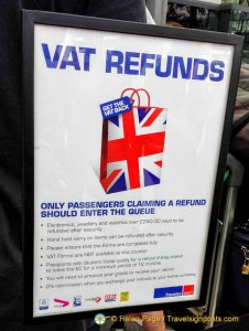London VAT Refund