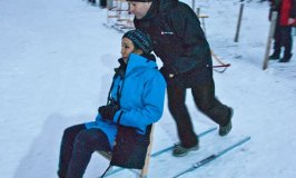 Taken for a Ride – a Kicksled Ride!