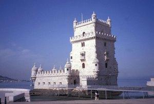 The 16th century Belém Tower, the ceremonial gateway to Lisbon