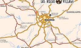 Directions to Las Rozas Village, Madrid