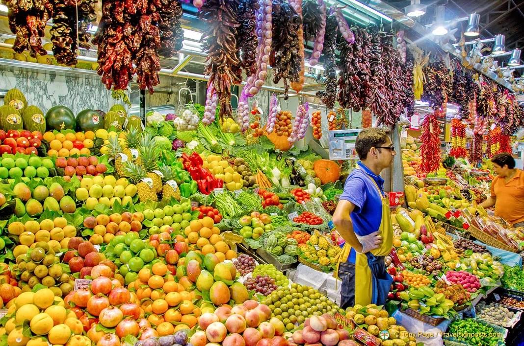 La Boqueria - Barcelona's Spectacular Food Market