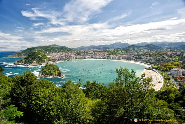 La Concha Bay - San Sebastian