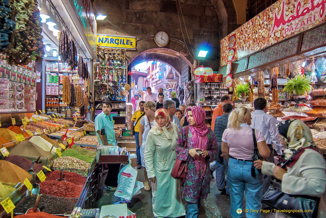 The Egyptian Market - An Exotic Spice Market in Istanbul