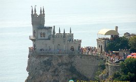 Swallow's Nest or Castle of Love in Yalta