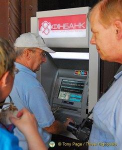 ATM at Londonskaya Hotel, Odessa