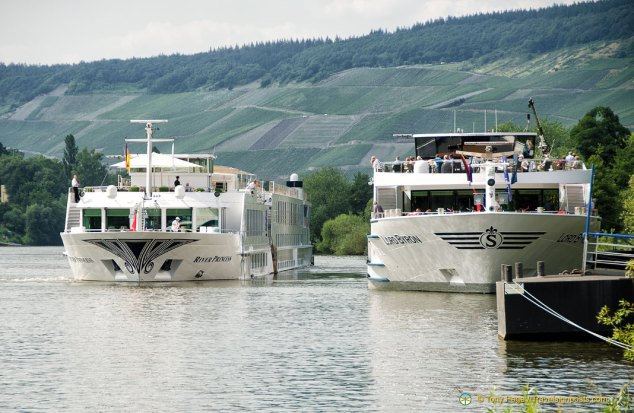 European Riverboats at Bernkastel