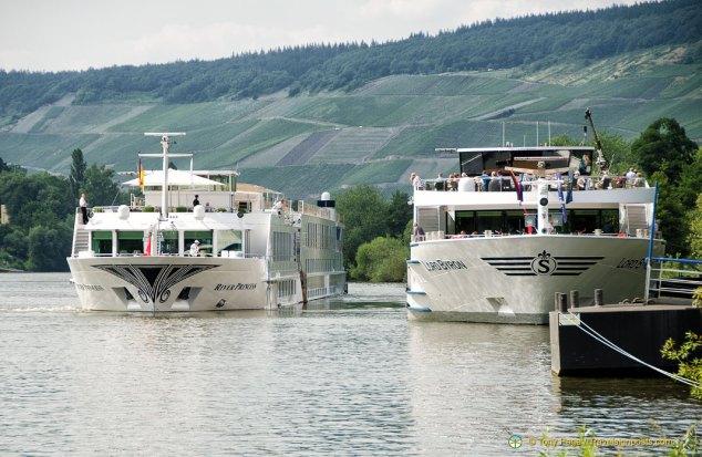 European Riverboats at Bernkastel