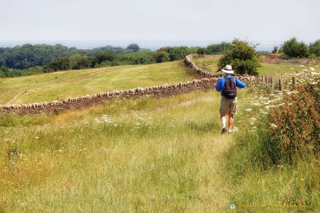 Walking on the Cotswolds Way