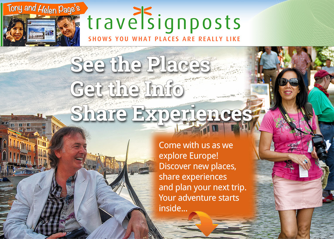 See the places, get information, shar